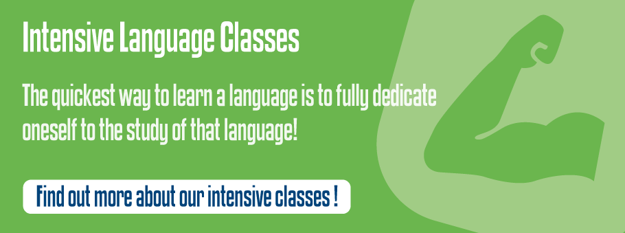 Intensive Language Classes
